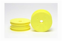 Tamiya DN-01 Front Dish Wheels Fluorescent Yellow 54285