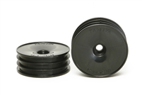 Tamiya 2WD Off Road Dish Front Wheels Black 60/19 54338