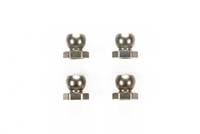Tamiya RM01 RM-01 Fluorine Coated 5mm Aluminum Short Ball Nut 4pcs 54360