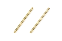 Tamiya 54469 DB02 3x41mm Titanium Coated Suspension Shaft (2 Pcs.) (TRF502x) (OP1469)