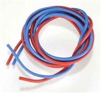 NOVAK 16 Gauge Silicone Power Wire Blue Red 5515
