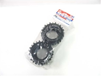 Tamiya Hybrid Spike Tires Front & Rear 84281