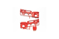 Tamiya 84348 WR-02 D Parts Color Chassis Red Style WR02 Wild Willy 2 Jimny