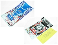 Tamiya RC Sticker for 58398 Raybrig NSX 2007 9495527
