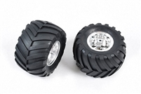 Tamiya Rear Tire / Wheel for 58242 Wild Willy 2000 Left & Right 9805619