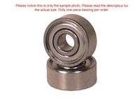 APS Dual Metal Shielded Ball Bearings 3x6x2.5mm Flanged APS3625MSF