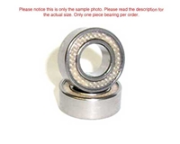 APS Dual Teflon Sealed Ball Bearings 5x10mm Flanged APS510TSF