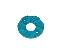 SPEEDMIND Aluminum Motor Cooling Disc Blue CP-01B