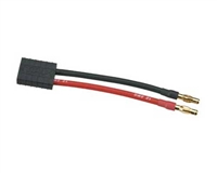 DuraTrax Battery Lead Traxxas Female Plug to 4mm Male Bullet DTXC2213