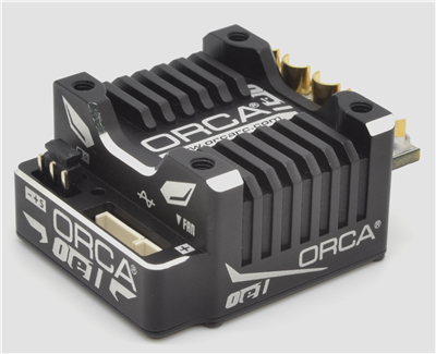 TEAM ORCA OE1 BRUSHLESS ESC BLACK