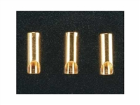 ElectriFly 3.5mm Gold Plated Bullet Connector Female 3pcs GPMM3113