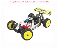 HOT BODIES 1:8 D8 Off-Road Nitro Buggy Kit HBS67300