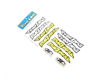 TEAM LOSI Logo Sticker Sheet Die Cut LOSA8353