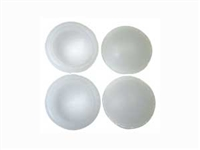 Muchmore RACING Oil Mix Silicone Diaphragm 40 Deg. White for Shock MK-R05