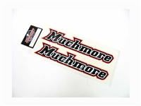 Muchmore RACING Head Logo Decal Big Size MR-D16