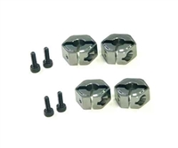 3Racing MTX4 Aluminium Wheel Adaptor MTX4-52/TI