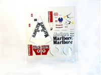 F1 Sticker Decal Sheet Vodafone Marlboro MUCH005