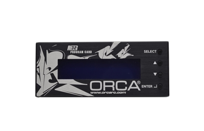 TEAM ORCA PROGRAM CARD FOR R32 ESC OPC332PB