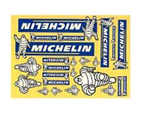 RC FACTORY Official Michelin Decal Set RCF-400
