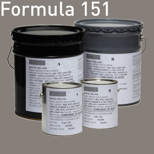 gray navy color mil dtl 24441 formula 151 type iii and type iv epoxy polyamide