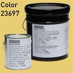 Fed STD 595 color 23697 Sun Glow for MIL-DTL-24607 Chlorinated Alkyd Enamel