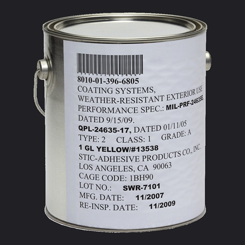 Mil Prf 24635 Type Ii Class 2 Color 27038 Silicone Alkyd Paint Buy Direct 1 Gallon 5 Gallon