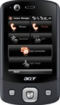 Acer Tempo DX900 Dual SIM Unlocked QuadBand GPS WiFi HSDPA Cellular Phone - 850/1900/2100MHz WCDMA 3G HSDPA, VGA Display, 3.15MP Camera, WiFi, GPS SiRF Star III, Microsoft Windows Mobile 6.1 Professional