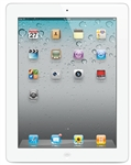 "Apple Ipad 2 Tablet - 16GB WiFi + 3G - White - 850/900/1900/2100MHz WCDMA, 9.7"" Display, iOS 4, 0.7MP Camera, 720p HD Video, GPS, Digital Compass, TV-out, iOS 4"