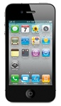 "Apple iPhone 4 32GB Unlocked QuadBand Cellular Phone Black - iPhone4 Never Locked - 850/900/1900/2100MHz WCDMA, 5MP Camera, 3.5"" Touch Screen, Digital Compass, 720p HD Video, FaceTime, Retina Display, iPhone OS iOS 4"