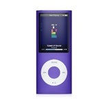 "Apple iPod Nano 8GB 4th Generation MB739LL/A Purple - Flash Portable Media Player - Audio Player, Video Player, Photo Viewer - 2"" Color LCD - 8GB Flash Memory"
