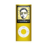 "Apple iPod Nano 8GB 4th Generation MB748LL/A Yellow - Flash Portable Media Player - Audio Player, Video Player, Photo Viewer - 2"" Color LCD - 8GB Flash Memory"