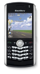 RIM Blackberry 8100 Pearl Smartphone Unlocked QuadBand Cellular Phone Black - EDGE, 1.3 MP Camera
