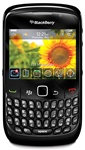 RIM Blackberry Curve 8520 Unlocked QuadBand WiFi Cellular Phone Gemini - EDGE, 2MP Camera, 3.5 mm audio jack, QWERTY Keyboard, Optical Trackpad, BlackBerry OS