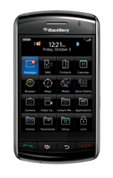 RIM Blackberry Storm 9500 Smartphone Unlocked QuadBand Cellular Phone - 2100MHz WCDMA Touchscreen, 3G HSDPA 3.15MP Camera, GPS