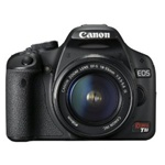 Canon EOS Rebel T1i 15.1MP Digital SLR Camera Kit with EF-S 18-55mm f/3.5-5.6 IS Lens Black
