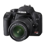 Canon EOS Rebel XS 10.1MP Digital SLR Camera Kit with EF-S 18-55mm f/3.5-5.6 IS Lens Black