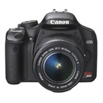 Canon EOS Rebel XSi 12.2MP Digital SLR Camera Kit with EF-S 18-55mm f/3.5-5.6 IS Lens Black
