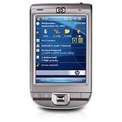 "HP iPAQ 111 Classic Handheld - Windows Mobile 6.0 - PXA310 624 MHz - RAM: 64 MB - ROM: 256 MB 3.5"" TFT ( 320 x 240 ) - 802.11b, 802.11g, Bluetooth 2.0 EDR FA979AA#ABA FA980AA#ABA - Refurbished"