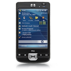 "HP iPAQ 211 Enterprise Handheld - Windows Mobile 6.0 Classic - PXA310 624 MHz - RAM: 128 MB - ROM: 256 MB 4"" TFT ( 640 x 480 ) - 802.11b, 802.11g, Bluetooth 2.0 EDR FB041AA#ABA FB040AA#ABA - Refurbished"