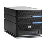 HP Media Vault Pro mv5150 1.5TB Network Storage Server NAS - GX668AA#ABA - 2x 750GB SATA, 2x USB, Gigabit LAN
