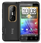 "HTC Evo 3D X515M Unlocked QuadBand GPS WiFi HSDPA Cellular Phone Black - 900/2100MHz WCDMA, 4.3"" capacitive qHD S-LCD Display, Multi-touch, 5MP Camera, 720p HD Video, Stereoscopic, TV-Out, FM Radio, Dual Core Snapdragon, Android OS, v2.3 Gingerbread"