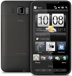 "HTC HD2 T8585 Unlocked QuadBand GPS WiFi HSDPA Cellular Phone Leo - 900/2100MHz WCDMA, 4.3"" capacitive Display, Accelerometer, 5MP Camera, Digital Compass, FM Radio, 3.5 mm audio jack, Snapdragon, HTC Sense, Microsoft Windows Mobile 6.5 Professional"