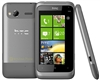 "HTC Radar C110E Unlocked QuadBand GPS WiFi HSDPA Cellular Phone Metal Silver Omega - 900/2100MHz WCDMA, 3.8"" capacitive Display, Gorilla Glass, Accelerometer, 5MP Camera, 720p HD, FM Radio, Microsoft Windows Phone 7.5 Mango"