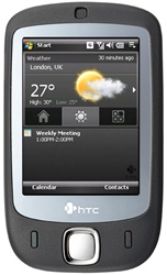 HTC Touch P3452 Unlocked QuadBand Touch Screen Cellular Phone - EDGE, 2MP Camera, WiFi, Microsoft Windows Mobile 6.0 Professional