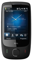 HTC Touch 3G T3232 Unlocked QuadBand Touch Screen Cellular Phone - 900/2100MHz WCDMA, 3.15MP Camera, FM Radio, WiFi, GPS, Microsoft Windows Mobile 6.1 Professional, BLACK