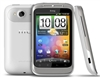 "HTC Wildfire S A510E Unlocked QuadBand GPS WiFi HSDPA Cellular Phone Silver/White - 900/2100MHz WCDMA, 3.2"" capacitive Display, Gorilla Glass, 5MP Camera, Snapdragon, FM Radio, Android OS, v2.3 Gingerbread"
