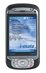 i-mate JASJAM Unlocked QuadBand WiFi HSDPA Cellular Phone  - 850/1900/2100MHz WCDMA, HSDPA, QWERTY keyboard, Microsoft Windows Mobile 5.0 PocketPC