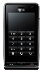 LG KU990 Viewty Unlocked TriBand 5MP Camera Cellular Phone Black - 2100MHz WCDMA, HSDPA, FM Radio, Touchscreen