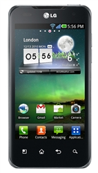 "LG P990 Optimus 2X Unlocked QuadBand GPS WiFi HSDPA Cellular Phone Black - 900/2100MHz WCDMA, 4.0"" Display, Gorilla Glass, 8MP Camera, 1080p HD Video, Dual-core, Digital Compass, FM Radio, Android OS, v2.2 Froyo"