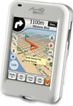 "Mio DigiWalker H610 Handheld GPS and MP3 Player - SiRFstarIII - 2.7"" TFT - 320 x 240 - Color"